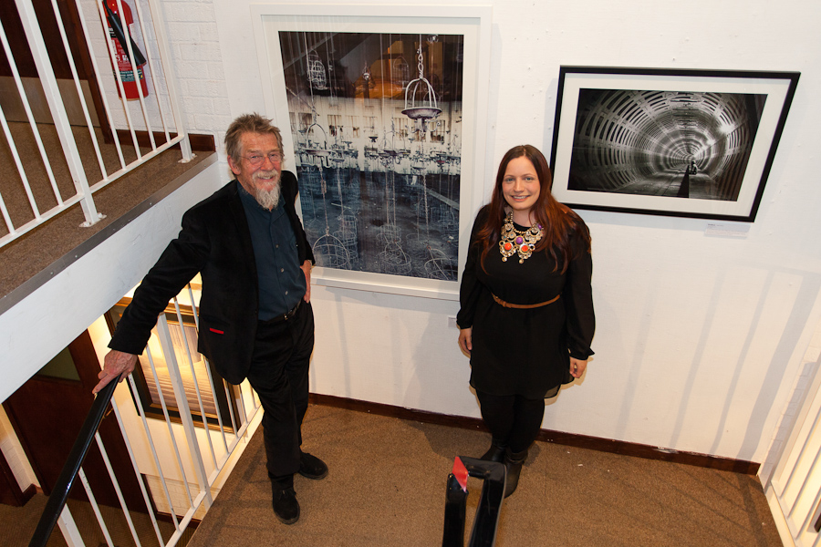 John Hurt and Gina Soden Holt Art Prize