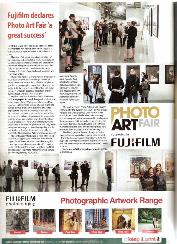 Photo Art Fair Tearsheet