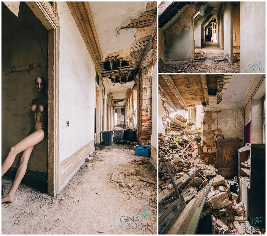 Gina Soden Abandoned France Chateau (4)