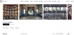 School Corridor Gina Soden London Fine Art Photographer Artsy