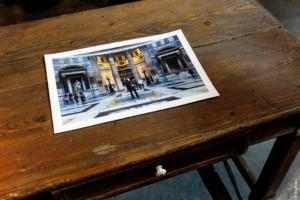 Sky Arts Pantheon Rome Gina Soden London fine art photographer