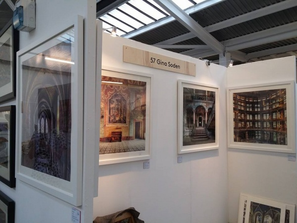 Gina Soden - Stand 57 at The Other Art Fair 2014