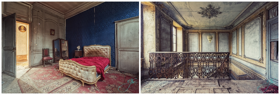 Gina Soden Abandoned France Chateau (5)