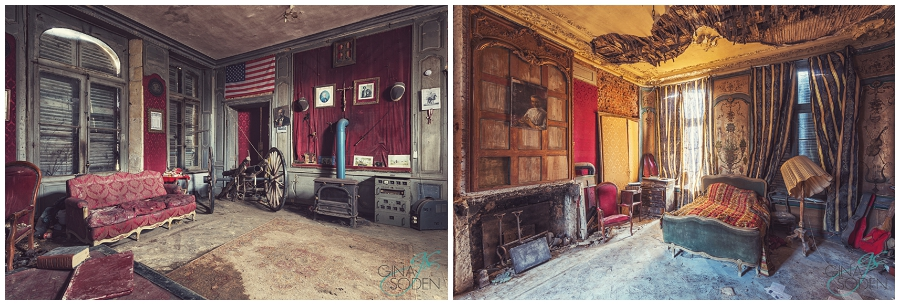 Gina Soden Abandoned France Chateau (6)