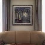 London Fine Art Photographer Blue Orphanage by Gina Soden at a client's house