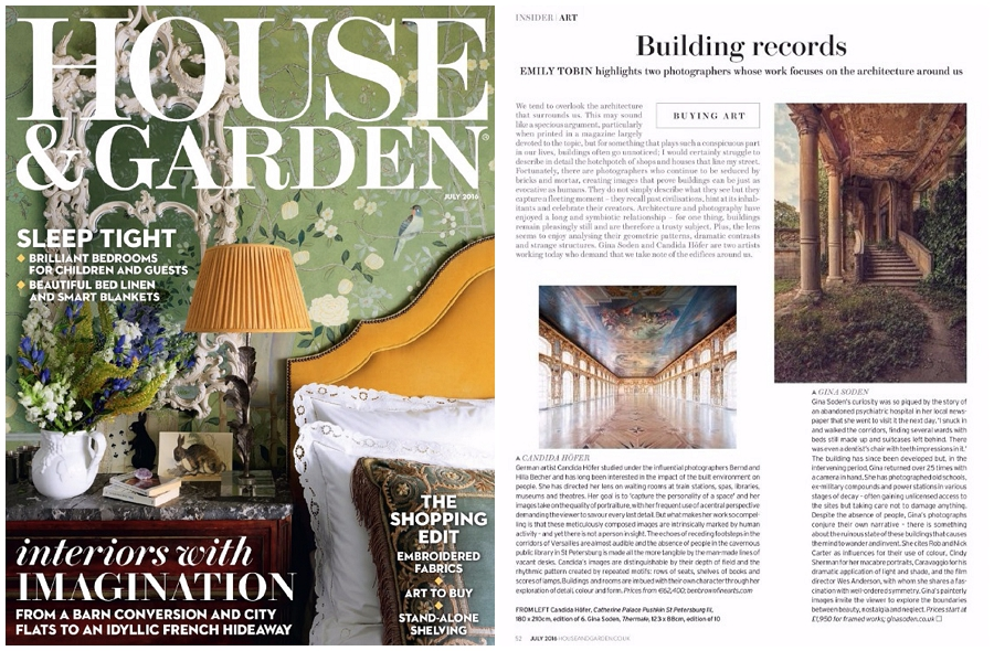 House & Garden article